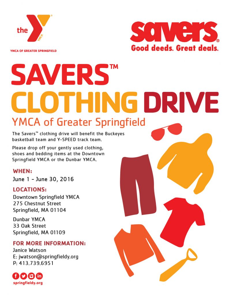 Savers Clothing Drive Ymca