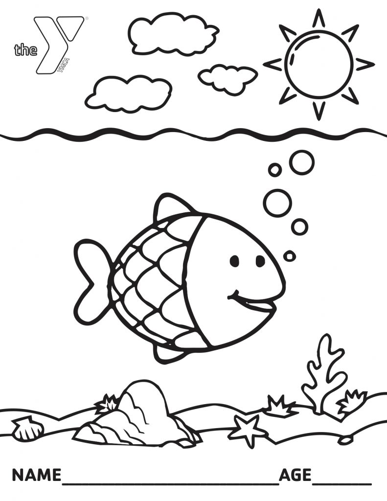 Calling All Artist Coloring Pages Ymca